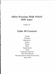 Page 5, 1976 Edition, Abbot Pennings High School - Argos Yearbook (De Pere, WI) online yearbook collection
