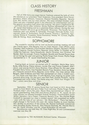 Page 15, 1954 Edition, Ithaca High School - Reflections Yearbook (Ithaca, WI) online yearbook collection