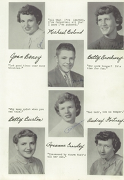 Page 15, 1956 Edition, Seneca High School - Chief Yearbook (Seneca, WI) online yearbook collection