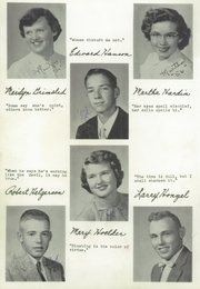 Page 16, 1956 Edition, Seneca High School - Chief Yearbook (Seneca, WI) online yearbook collection