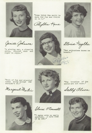 Page 17, 1956 Edition, Seneca High School - Chief Yearbook (Seneca, WI) online yearbook collection