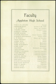 Page 10, 1919 Edition, Appleton High School - Clarion Yearbook (Appleton, WI) online yearbook collection