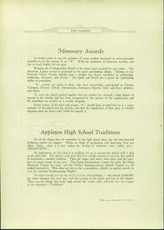 Page 179, 1929 Edition, Appleton High School - Clarion Yearbook (Appleton, WI) online yearbook collection