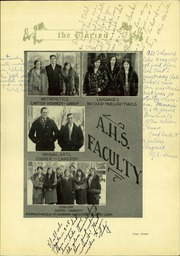 Page 15, 1930 Edition, Appleton High School - Clarion Yearbook (Appleton, WI) online yearbook collection