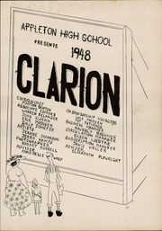 Page 7, 1948 Edition, Appleton High School - Clarion Yearbook (Appleton, WI) online yearbook collection