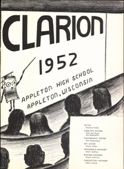 Page 9, 1952 Edition, Appleton High School - Clarion Yearbook (Appleton, WI) online yearbook collection