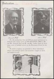 Page 3, 1974 Edition, Wisconsin School for the Deaf - Tattler Yearbook (Delavan, WI) online yearbook collection