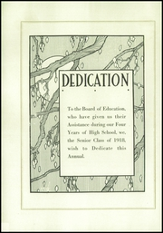 Page 6, 1918 Edition, Fall River High School - Pioneer Yearbook (Fall River, WI) online yearbook collection