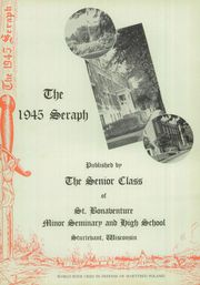 Page 6, 1945 Edition, St Bonaventure High School - Seraph Yearbook (Sturtevant, WI) online yearbook collection