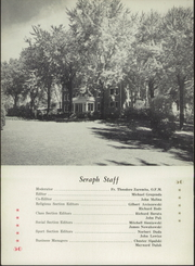 Page 6, 1951 Edition, St Bonaventure High School - Seraph Yearbook (Sturtevant, WI) online yearbook collection