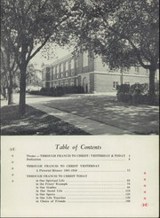 Page 7, 1951 Edition, St Bonaventure High School - Seraph Yearbook (Sturtevant, WI) online yearbook collection