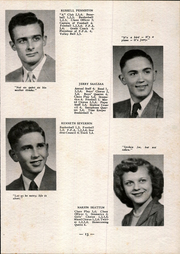 Page 17, 1951 Edition, Argyle High School - Treasured Echoes Yearbook (Argyle, WI) online yearbook collection