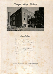 Page 5, 1951 Edition, Argyle High School - Treasured Echoes Yearbook (Argyle, WI) online yearbook collection
