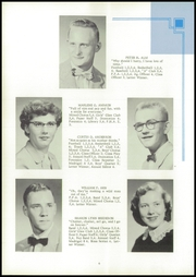 Page 10, 1956 Edition, Argyle High School - Treasured Echoes Yearbook (Argyle, WI) online yearbook collection