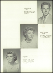 Page 29, 1954 Edition, Westosha Central High School - Falcon Yearbook (Salem, WI) online yearbook collection