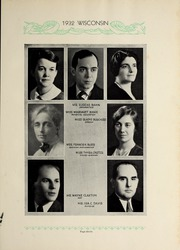 Page 17, 1932 Edition, Wisconsin High School - Wisconsin Yearbook (Madison, WI) online yearbook collection