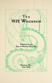 Page 7, 1932 Edition, Wisconsin High School - Wisconsin Yearbook (Madison, WI) online yearbook collection