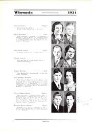 Page 15, 1934 Edition, Wisconsin High School - Wisconsin Yearbook (Madison, WI) online yearbook collection