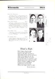 Page 17, 1934 Edition, Wisconsin High School - Wisconsin Yearbook (Madison, WI) online yearbook collection