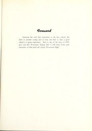Page 7, 1939 Edition, Wisconsin High School - Wisconsin Yearbook (Madison, WI) online yearbook collection