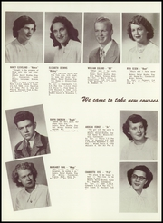 Page 14, 1951 Edition, Alexander High School - Moccasin Yearbook (Nekoosa, WI) online yearbook collection