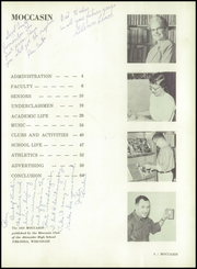 Page 7, 1959 Edition, Alexander High School - Moccasin Yearbook (Nekoosa, WI) online yearbook collection