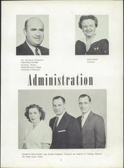 Page 11, 1956 Edition, North Fond Du Lac High School - Oriole Yearbook (North Fond Du Lac, WI) online yearbook collection