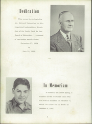 Page 8, 1956 Edition, North Fond Du Lac High School - Oriole Yearbook (North Fond Du Lac, WI) online yearbook collection