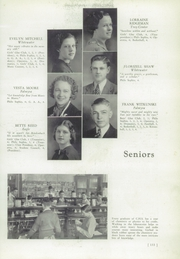 Page 11, 1938 Edition, Whitewater College High School - Reflector Yearbook (Whitewater, WI) online yearbook collection