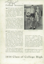 Page 8, 1938 Edition, Whitewater College High School - Reflector Yearbook (Whitewater, WI) online yearbook collection