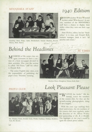 Page 8, 1940 Edition, Whitewater College High School - Reflector Yearbook (Whitewater, WI) online yearbook collection
