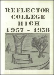 Page 5, 1958 Edition, Whitewater College High School - Reflector Yearbook (Whitewater, WI) online yearbook collection