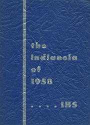1958 Edition, Iola High School - Indianola Yearbook (Iola, WI)