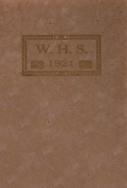 Page 1, 1921 Edition, Walworth High School - Romog Yearbook (Walworth, WI) online yearbook collection