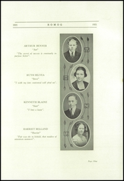 Page 13, 1921 Edition, Walworth High School - Romog Yearbook (Walworth, WI) online yearbook collection
