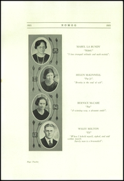 Page 16, 1921 Edition, Walworth High School - Romog Yearbook (Walworth, WI) online yearbook collection