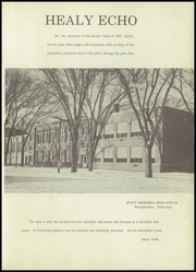 Page 5, 1957 Edition, Healy Memorial High School - Echo Yearbook (Trempealeau, WI) online yearbook collection