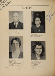 Page 10, 1948 Edition, Arbor Vitae Woodruff High School - Log Yearbook (Woodruff, WI) online yearbook collection