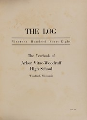 Page 5, 1948 Edition, Arbor Vitae Woodruff High School - Log Yearbook (Woodruff, WI) online yearbook collection