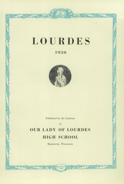Page 7, 1930 Edition, Our Lady of Lourdes High School - Knight Yearbook (Marinette, WI) online yearbook collection