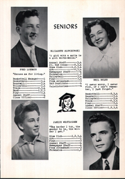 Page 11, 1957 Edition, Tripoli High School - Echo Yearbook (Tripoli, WI) online yearbook collection