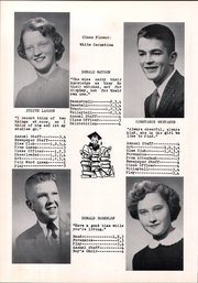 Page 14, 1957 Edition, Tripoli High School - Echo Yearbook (Tripoli, WI) online yearbook collection