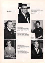 Page 8, 1967 Edition, Tripoli High School - Echo Yearbook (Tripoli, WI) online yearbook collection
