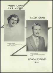 Page 15, 1954 Edition, Hollandale High School - Panther Yearbook (Hollandale, WI) online yearbook collection
