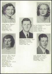Page 13, 1952 Edition, Mindoro High School - Tiger Tracks Yearbook (Mindoro, WI) online yearbook collection