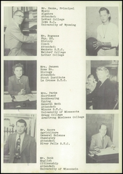 Page 9, 1952 Edition, Mindoro High School - Tiger Tracks Yearbook (Mindoro, WI) online yearbook collection