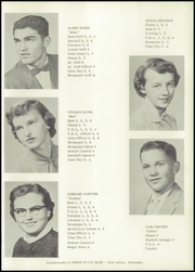 Page 15, 1956 Edition, Mindoro High School - Tiger Tracks Yearbook (Mindoro, WI) online yearbook collection