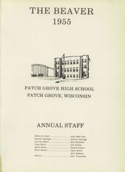 Page 5, 1955 Edition, Patch Grove High School - Beaver Yearbook (Patch Grove, WI) online yearbook collection