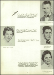 Page 10, 1957 Edition, Sharon High School - Sharonite Yearbook (Sharon, WI) online yearbook collection