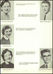 Page 13, 1957 Edition, Sharon High School - Sharonite Yearbook (Sharon, WI) online yearbook collection